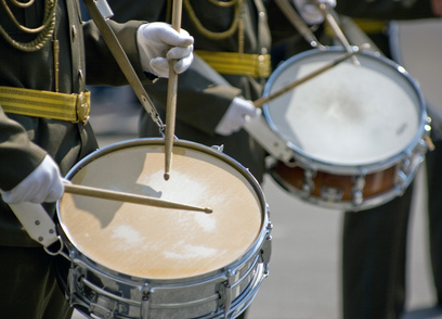 Musicians at the Festival of Military Bands